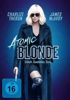 ATOMIC BLONDE (Charlize Theron, James McAvoy) DVD