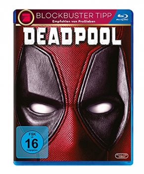 DEADPOOL (Ryan Reynolds, Morena Baccarin) Blu-ray Disc