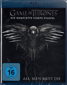 GAME OF THRONES, Staffel 4 (4 Blu-ray Discs)