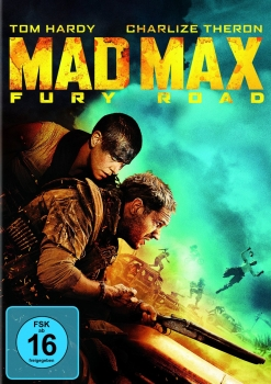 MAD MAX: FURY ROAD (Tom Hardy, Charlize Theron) DVD