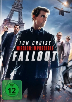 MISSION IMPOSSIBLE: FALLOUT (Tom Cruise) DVD