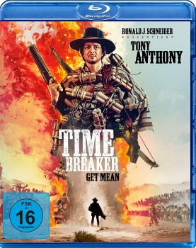 TIME BREAKER, Get Mean (Tony Anthony) Blu-ray Disc