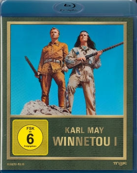 WINNETOU I (Lex Barker, Pierre Brice) Blu-ray Disc