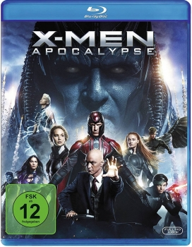 X-MEN: APOCALYPSE (James McAvoy, Michael Fassbender) Blu-ray Disc