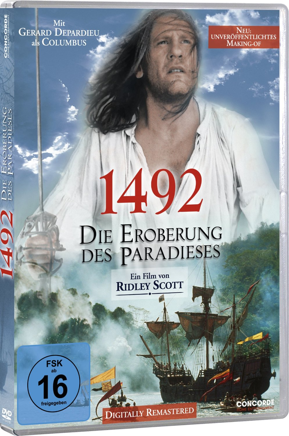herr der filme 1492 die eroberung des paradieses gerard depardieu dvd. Black Bedroom Furniture Sets. Home Design Ideas