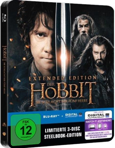 Herr Der Filme Der Hobbit Die Schlacht Der Fünf Heere Extended