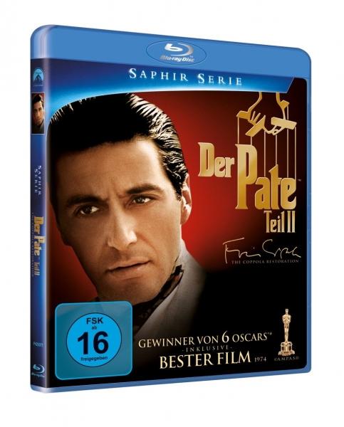 Herr Der Filme Der Pate 2 Robert De Niro Al Pacino Blu Ray Disc