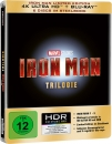 IRON MAN TRILOGIE (4K Ultra HD + Bluray) 6 Discs, Steelbook
