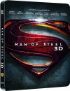 MAN OF STEEL (Henry Cavill) Blu-ray 3D + Blu-ray Disc, Steelbook