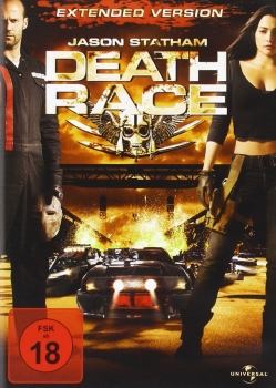 DEATH RACE, Extended Version (Jason Statham) DVD