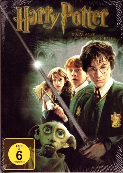Herr Der Filme Harry Potter Und Die Kammer Des Schreckens Dvd Steelbook